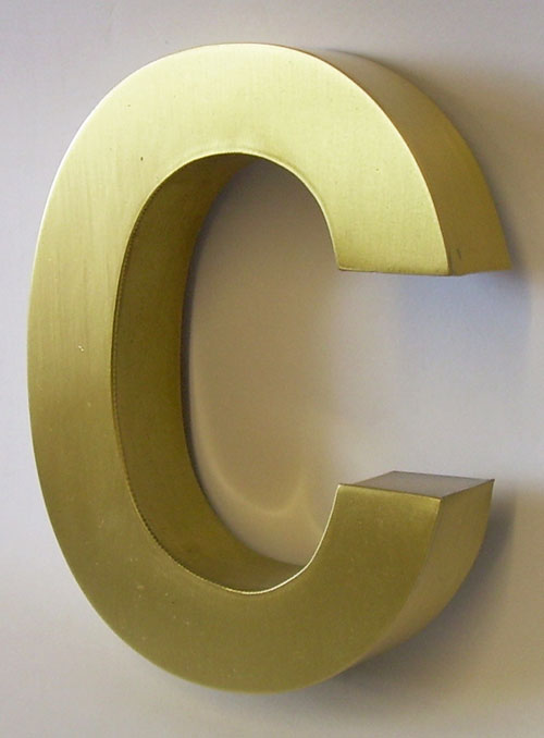 best brass letter signage company in gurgaon