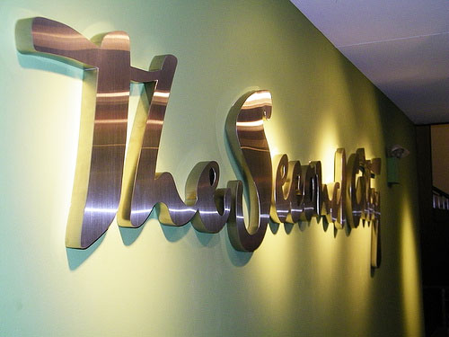 reception signage manufacturers in gurgaon