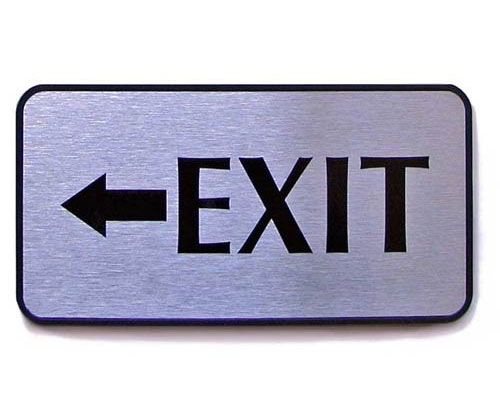Fire Exit Sign Board Manufacturers in Gurgaon