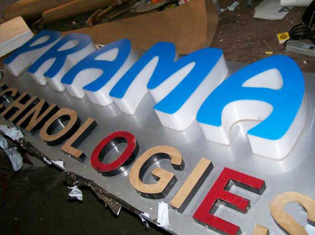 3D Acrylic letters in gurgaon