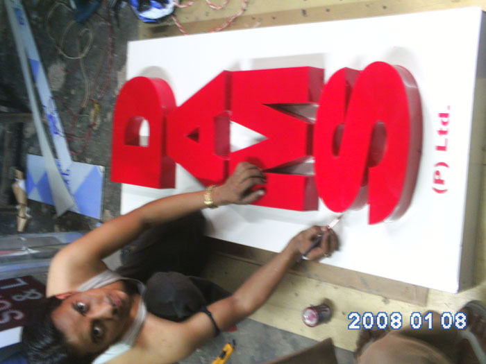 Acrylic Letter signage manufacturers in gurgaon