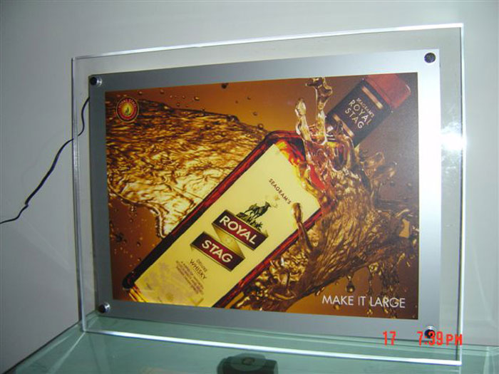 Acrylic LED Display manufacturers in gurgaon