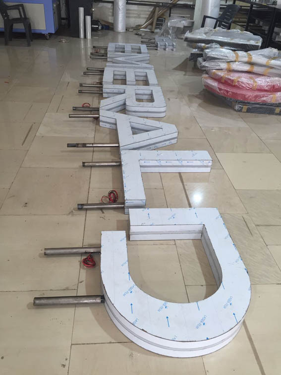 Galaxy Signage 3d Led Signage Sign Board Logo Designing